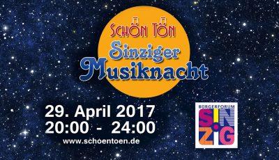 Siziger Musiknacht 2017