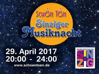 Sinziger Musiknacht 2017 rockte - der Film