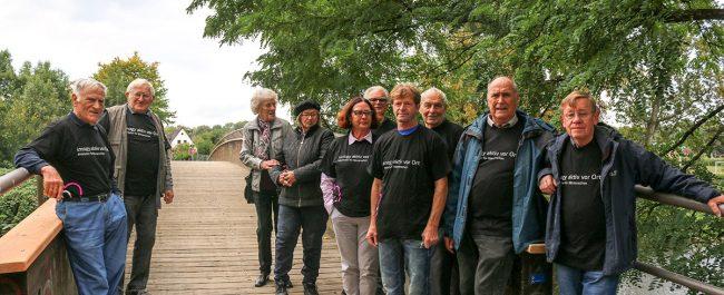 Rüstige Rentner und Bürgerforum sanieren zwei Stege über die Ahr