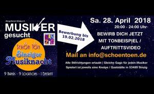 Sinziger Musiknacht 2018 @ Sinzig | Sinzig | Rheinland-Pfalz | Deutschland