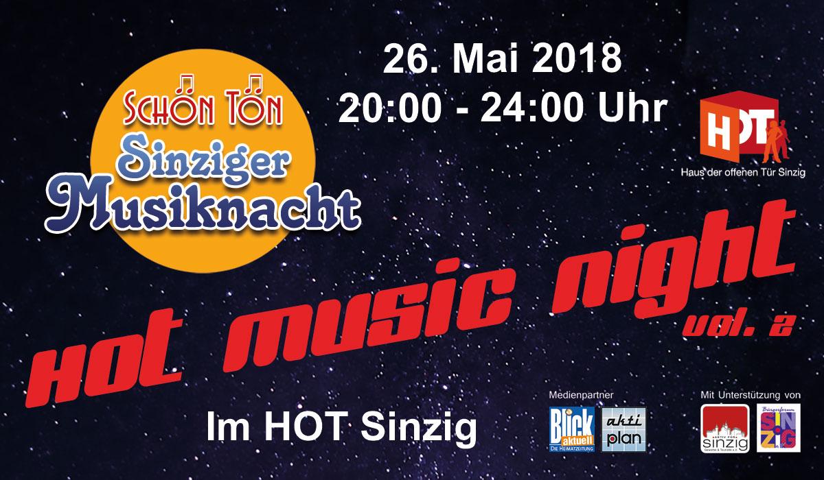 Heiß, heißer, HOT Music Night Vol. 2