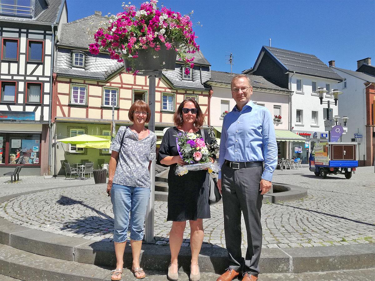 Flower Your Street Blumenschmuck für Sinzig